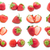makró · étel · gyűjtemény · eper · textúra · közelkép - stock fotó © sailorr