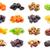 secas · frutas · coleção · branco · isolado - foto stock © sailorr