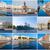 Rusia · vista · río · puesta · de · sol · ciudad - foto stock © sailorr