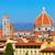 kilátás · Florence · kupola · város · tető · város - stock fotó © sailorr