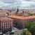 Madri · panorama · azul · viajar · europa · férias - foto stock © sailorr
