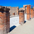 antigo · ruínas · Itália · rua · viajar · pedra - foto stock © sailorr