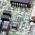 integrált · mikrocsip · mikroprocesszor · kék · nyáklap · számítógép - stock fotó © sailorr