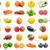 柿 · 果物 · 白 · ツリー · 食品 · 自然 - ストックフォト © sailorr
