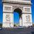 Arc · de · Triomphe · cielo · blu · Parigi · Francia · cielo · costruzione - foto d'archivio © sailorr