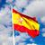 スペイン国旗 · 石 · バレンシア · スペイン · 空 · 城 - ストックフォト © sailorr