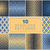 vetor · sem · costura · geométrico · meio-tom · retro · padrões - foto stock © samolevsky
