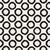 vector seamless black and white hand drawn circles pattern stock photo © samolevsky