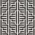 interlacing lines maze lattice ethnic monochrome texture vector seamless black and white pattern stock photo © samolevsky