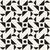Vektor · schwarz · weiß · Kreuz · geometrische · Muster · Muster - stock foto © samolevsky