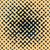 Vector Seamless Halftone Gradient Rounded Irregular Navy Tan Grungy Pattern stock photo © Samolevsky