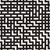 irregular maze lines vector seamless black and white pattern stock photo © samolevsky