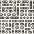 ベクトル · 同心の · サークル · モザイク · 黒白 - ストックフォト © samolevsky