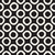 vetor · sem · costura · preto · e · branco · concêntrico · círculos · padrão - foto stock © samolevsky