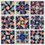 abstract · azuur · Blauw · vierkante · tegel · vector - stockfoto © samolevsky