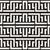 linhas · labirinto · étnico · monocromático · textura · vetor - foto stock © Samolevsky