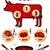 グリル · バーベキュー · バーベキュー · 牛肉 · 豚肉 · 鶏 - ストックフォト © samorodinov