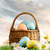 colorful easter eggs decorated with flowers in the grass stock photo © sandralise