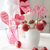 closeup of cake pops with decorations for valentines day stock photo © sandralise