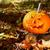 vicces · arc · sütőtök · halloween · szemek · háttér · űr - stock fotó © sandralise