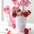cake pops with decorations on kitchen table stock photo © sandralise