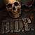 creepy skull on gravestone stock photo © sandralise