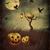 épouvantail · automne · nature · domaine · ferme · laisse - photo stock © sandralise