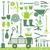 садоводства · иконки · различный · вектора · силуэта · набор - Сток-фото © sanjanovakovic