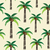 palm trees and coconuts scratched vector seamless pattern background stock photo © sanjanovakovic