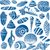 sea shells and rocks seamless pattern on beige background stock photo © sanjanovakovic