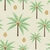 palm trees and coconuts vector seamless pattern background stock photo © sanjanovakovic