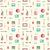 vector seamless pattern with makeup objects stock photo © sanjanovakovic