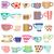 Various colorful cups stock photo © sanjanovakovic