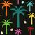 palmboom · vector - stockfoto © sanjanovakovic