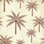 vintage palm trees vector pattern on old paper background stock photo © sanjanovakovic