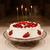 strawberry birthday cake stock photo © sapegina
