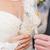 handen · bruid · bruidegom · bril · champagne · vrouw - stockfoto © sapegina