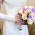 beige roses and lilac irises bouquet stock photo © sapegina