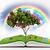 fantázia · gyümölcsfa · illusztráció · fa · különböző · gyümölcsök - stock fotó © saracin