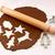 naturaleza · muerta · cookie · Navidad · forma · forma · nutrición - foto stock © sarahdoow