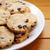 biscotti · bianco · piatto · Pasqua · tavolo · in · legno - foto d'archivio © sarahdoow