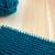 kouseband · steek · naald · garen · Blauw - stockfoto © sarahdoow