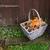 cesta · abóbora · secar · folhas · rústico - foto stock © sarahdoow