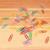 multicolorido · papel · madeira · tabela · verde · vermelho - foto stock © sarahdoow