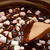 Mixing mini marshmallows into dark chocolate stock photo © sarahdoow