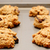 Oatmeal raisin cookies cooling on a baking sheet stock photo © sarahdoow