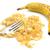 primer · plano · plátano · tenedor · frutas · aislado · blanco - foto stock © sarahdoow