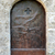 vecchio · metal · porta · decorato · cross - foto d'archivio © sarahdoow