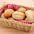 Basket full of fresh bread rolls stock photo © sarahdoow