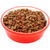 dry cat biscuits in a red pet food bowl stock photo © sarahdoow